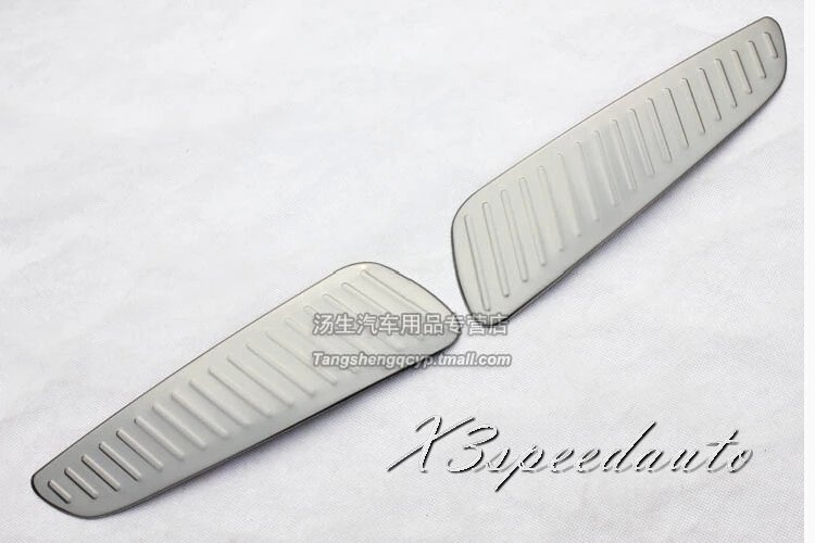 Free Shipping Stainless Steel Rear Bumper Door Sill Plate Scuff For Jeep Grand Cherokee 2014+ free shipping 50pcs stainless steel