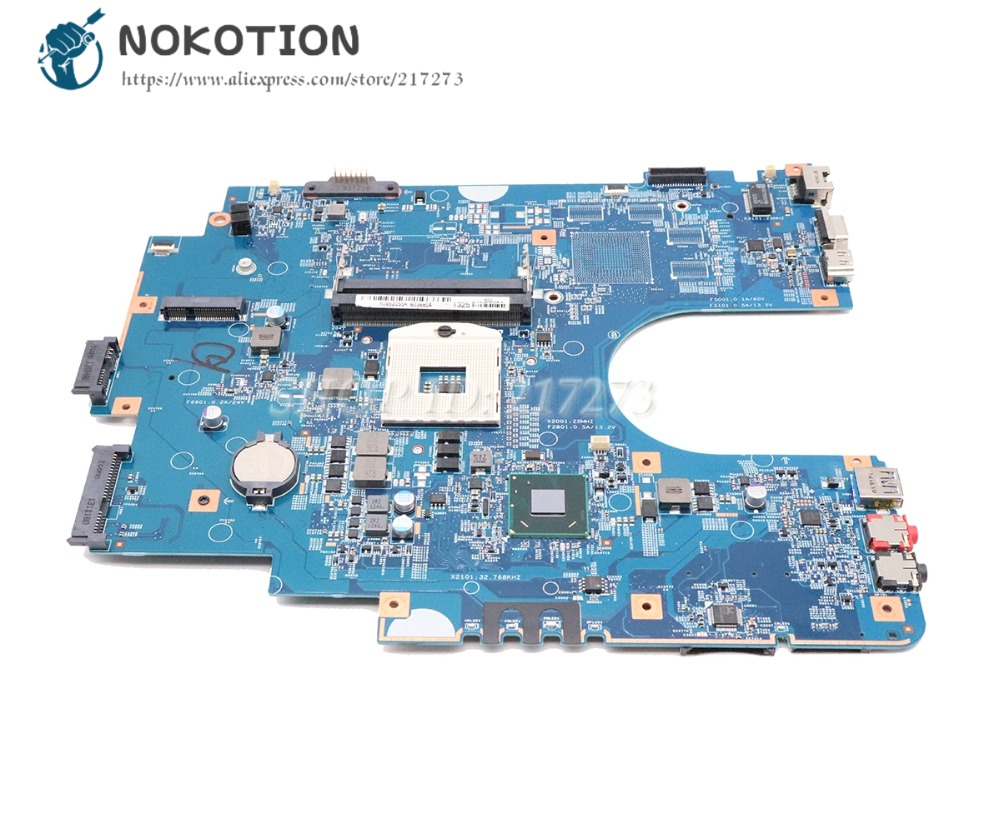 NOKOTION For Sony SVE17 SVE171 SVE1711F1EW Series Laptop Motherboard Z70CR MB S1204-2 48.4MR05.021 A1892055A MBX-267 Main Board