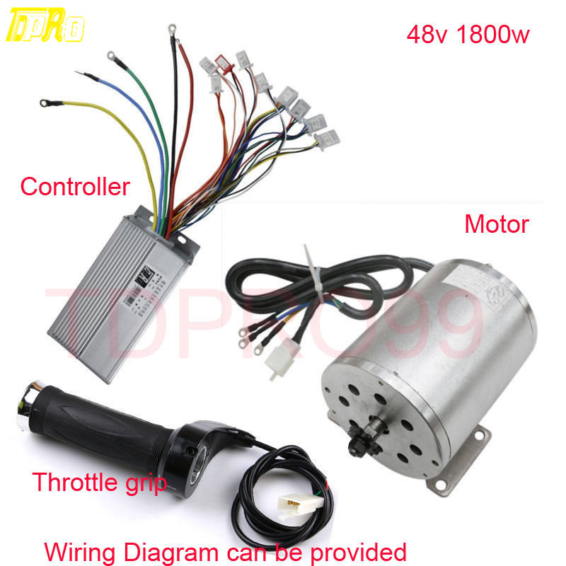 HOT SALE] 48v 1800W 32A Motor Brushless Speed Controller Box