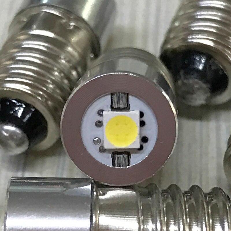 2PCS / lot E10 լապտեր լամպ 0.5w 1w արտակարգ - Լուսավորության պարագաներ - Լուսանկար 6