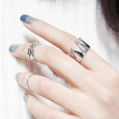 New Arrivals Hot Fashion women's ring Gold Color And Silver Plated X Cross Stereo Surround Hollow Ring For Women Jewelry