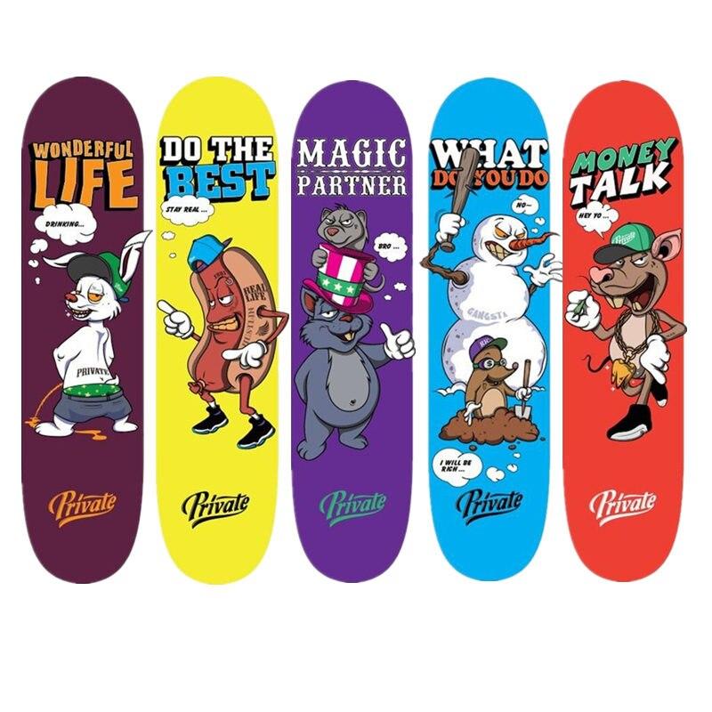 SK8ER Private Series Canadian Skateboard Deck 7.875/8/8