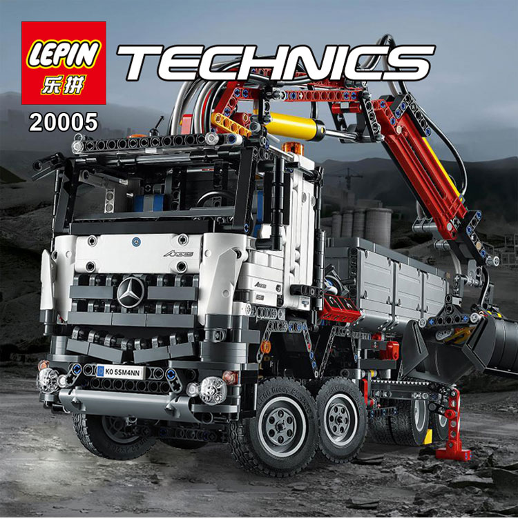 LEPIN 20005 2793pcs technic series  Model Building Block Bricks Compatible with Boys Toy Gift Compatible legoed 42023 lepin 22001 pirate ship imperial warships model building block briks toys gift 1717pcs compatible legoed 10210