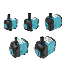 3/6/10/15/25W Ultra-Quiet Submersible Water Fountain Pump Filter Fish Pond Aquarium Water Pump Tank Fountain(China)