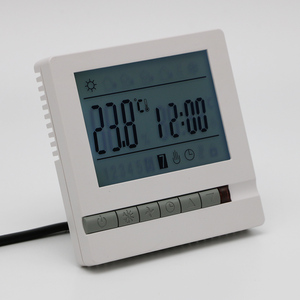 Image 2 - LCD Screen Thermostat Warm Floor Heating System Thermoregulator AC200 240V Temperature Controller