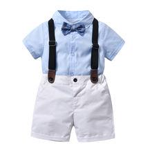 Костюм для маленьких мальчиков формальная куртка новые летние