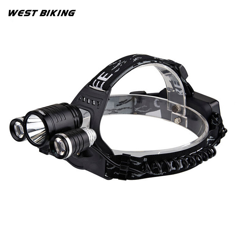 West Biking Bike Bicycle HeadLamp Light Cycling Lamp Light Headlight Bicycle Torch Rechargeable 2*18650 Battery Cycling Light туфли nine west nwomaja 2015 1590