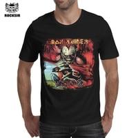 Iron Maiden T Shirt Men Hot Sale Rock Style Heavy Metal Streetwear Iron Maiden Classic Album