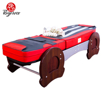 BYRIVER 2018 Combination Premium Korea Jade Stone Massage Bed With MP3 Music Function Table Massager