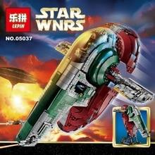 LEPIN STAR WARS 05037 UCS Slave I Slave NO.1 Model 2067pcs Building Block Bricks Toys Kits Minifigure Compatible 75060 Gifts