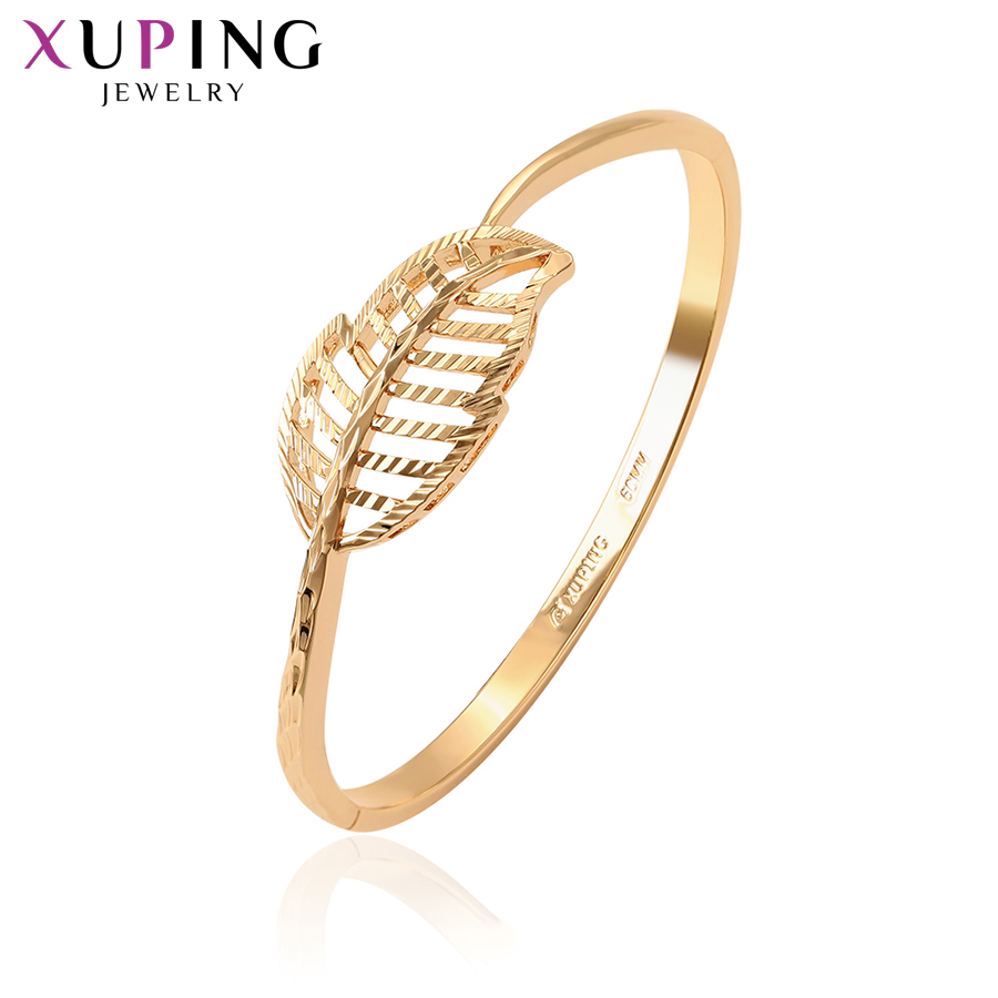11.11 Deals Xuping Jewelry Charms Styles Bangle Elegant Trendy for Women Girl Thanksgiving Valentines Day Gifts S120.5-52198