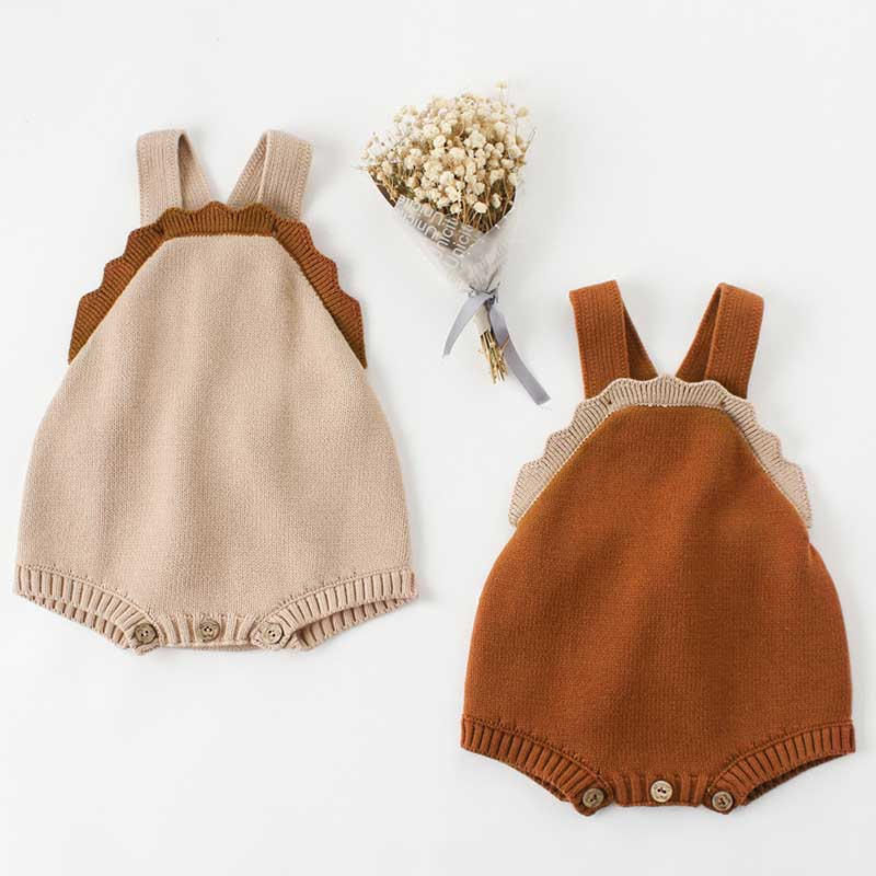 Baby Boys Girls Bodysuits With Woolen Ears Sweaters Buns Butterflies Conjoined Clothes Crawling Baby Jumpsuit Baby Rompers