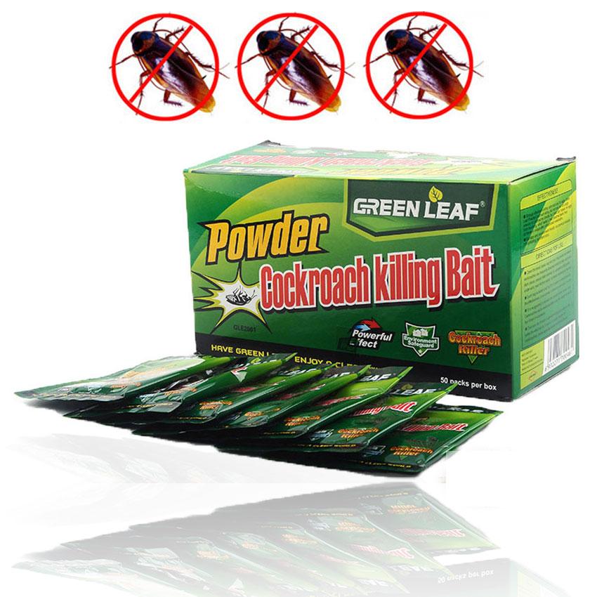 Купить со скидкой 10 Packs Pest Control Effective Cockroach Killing Bait Medicine Insecticide Cockroach Killer Pest Co