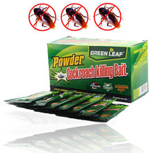 10 Packs Pest Control Effective Cockroach Killing Bait Medicine Insecticide Cockroach Killer Pest Control for Kitchen Restaurant