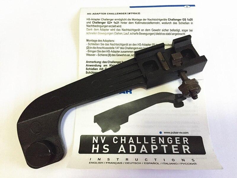 Pulsar 79043 NV Challenger HS Adapter NV Adapter designed to install NV monoculars Challenger GS 1x20 and Challenger G2+ 1x21 телескопическая насадка pulsar 2x пнв challenger gs 1x20 79092