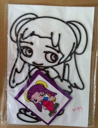 Темперной живописи игрушка, 11*19 см, DIY цвет рисунок