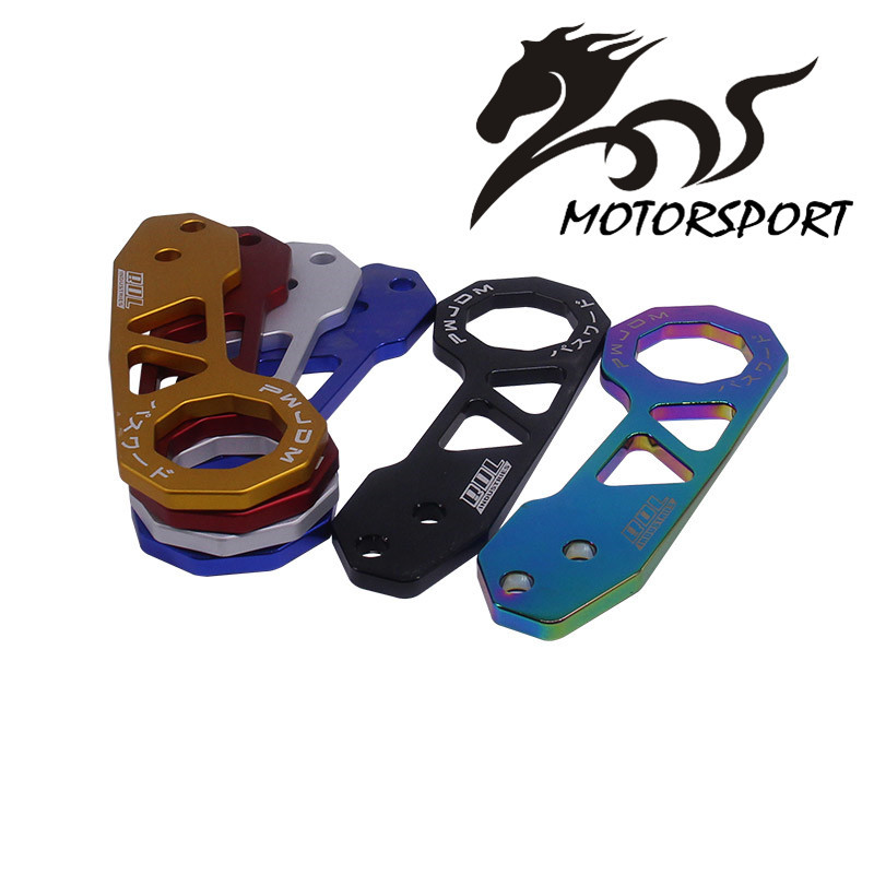 JDM Style Racing Rear Tow Hook Aluminum Alloy rear tow hook for <font><b>honda</b></font> civic with logo image