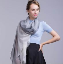Cashmere Scarf Women Soft Warm Natural Fabric Fashion Gray Big Plaid scarves Thin Shawl High Quality  Free Shipping аксессуар gembird cablexpert usb 2 0 am lightning 8p 1m silver ccb apusbs1m