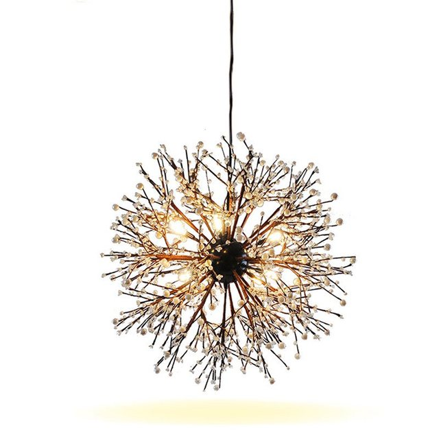 Led pendant light fireworks lamp entryway lamps crystal hanging led pendant light fireworks lamp entryway lamps crystal hanging chrome modern led clear dining room living mozeypictures Choice Image