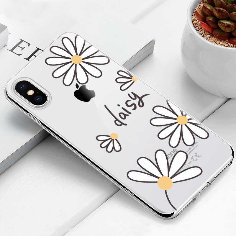Untuk iPhone X Max XR Penutup Silikon Case Tpu Kartun Kasus untuk iPhone 6 6 S 7 8 XR XS 5 5 S SE Coque Fundas Ponsel Bumper Perumahan