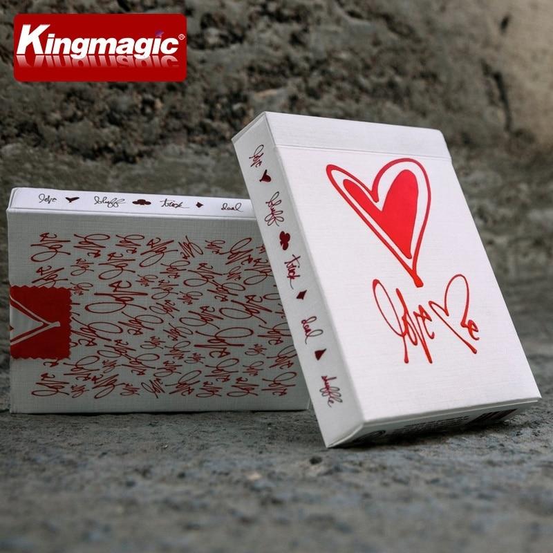 Fahrrad Liebe Mich Deck Spielkarten Theory11 Edition Poker Magie