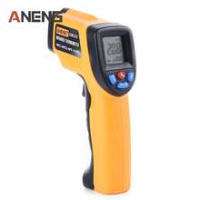 Sale ANENG GM320 Fahrenheit Digital Infrared Thermometer Pyrometer  Laser  Outdoor Celsius Thermometers
