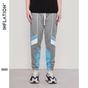Image 2 - אינפלציה 2020 חדש אוסף סתיו Jogger מכנסי טרנינג טלאי היפ הופ Streetwear מקרית מכנסיים לגברים נשים 8850W
