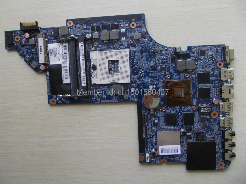 Free Shipping 665341-001 for HP Pavilion DV6 DV6-6000 DV6T motherboard HD6770/2G.All functions 100% fully Tested ! моноблок acer aspire c22 720 dq b7cer 007 dq b7cer 007
