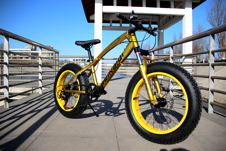 Wide tires High carbon steel plump Tyre Snow Bike Mountain