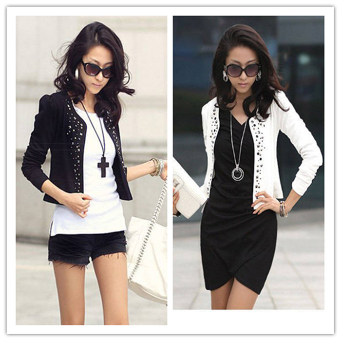 2015 Spring Hot Sale Style Women Slim Small Sequins