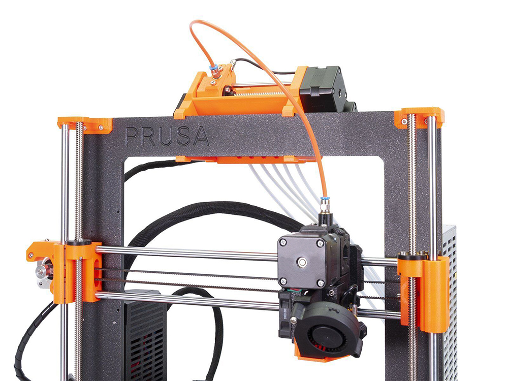 Image 5 - Clone Prusa i3 MK3S Printer Full Kit With MMU2S Complete Kit Multi Material 2S Upgrade Kit 3D printer DIY MK2.5/MK3/MK3S-in 3D Printers from Computer & Office