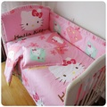 Baby Bedding Set 100% Cotton Fabric, Very Comfortable, Boys And Girls Crib Bedding Free Shipping
