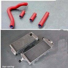 high performance aluminum alloy radiator silicone hose for Honda CR250R CR 250 R 2 stroke 1992