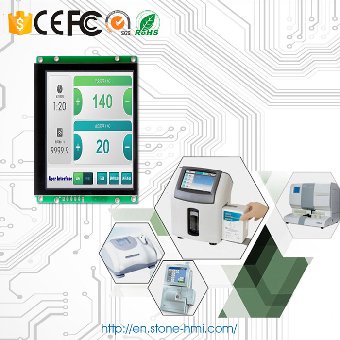 Open Frame/ Embedded Vertical LCD 3.5 inch with Controller Board + Software + Serial Interface 100PCSOpen Frame/ Embedded Vertical LCD 3.5 inch with Controller Board + Software + Serial Interface 100PCS