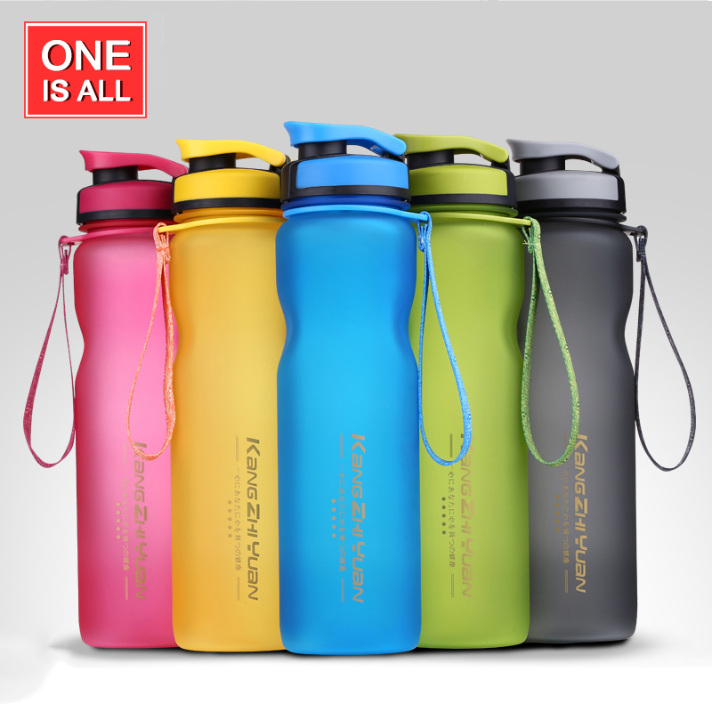 1000ML Sport Water Bottle Drinking Water For Bottles My Water Tea Infuser tumbler Scrub Portable Space Bike Cycling Shaker BPA F