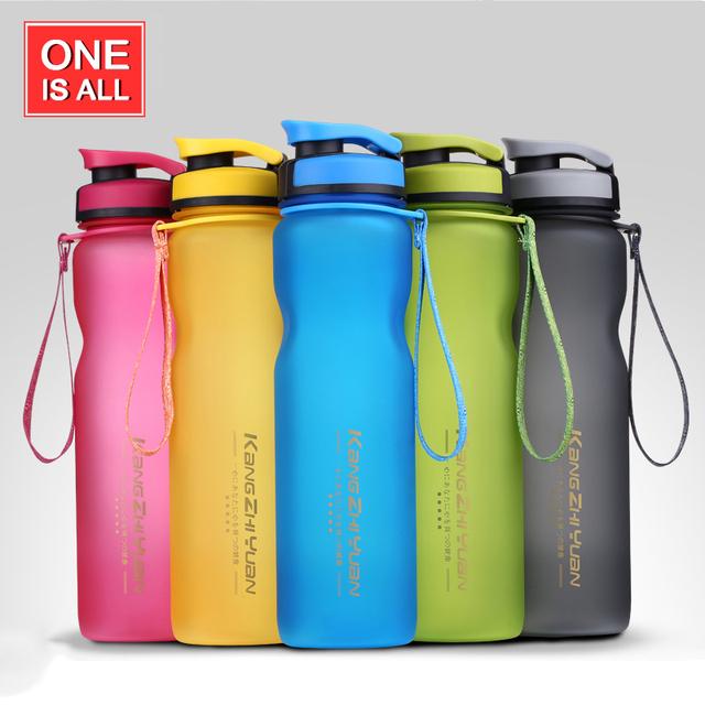 1000ML Sport Water Bottle Infuser Tea Sport Bottle BPA Free My Water Bottles 1000ml Scrub Portable Space Cup Bike Cycling Shaker