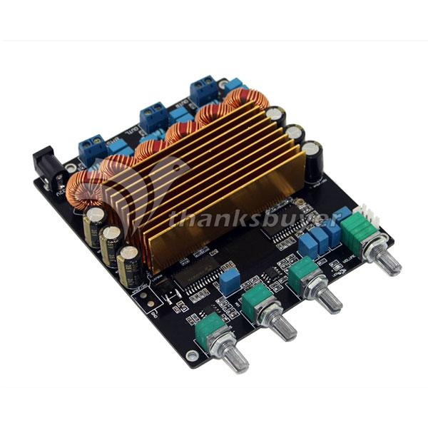 US $28 28 5% OFF|STA508+TC2000 2 1CH Class D Amp 2*80W+160W Amplifier Board  (Beyond TPA3116)-in Amplifier from Consumer Electronics on Aliexpress com