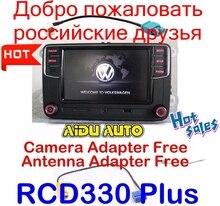 "Livraison Gratuite RCD330 RCD330G Plus 6.5 ""MIB UI Radio RCD510 RCN210 Pour Golf 5 6 Jetta CC Tiguan Passat Polo"