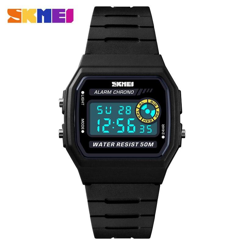 SKMEI Sport Watch Female Hour Top Clock Digital Watch Women's Stopwatch Chrono Waterproof Outdoor Women Wristwatch reloj mujer цена и фото