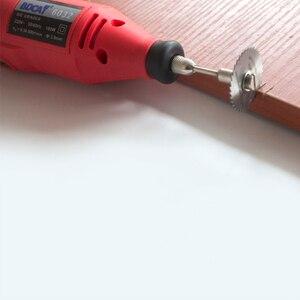 Image 5 - 6 قطعة منشار دائري صغير HSS أدوات دوارة لقطع الخشب من دريميل