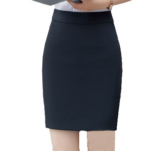 Image 4 - Spódnice damskie lato 2019 kobiet czarna spódnica Plus rozmiar kobieta wysokiej talii spódnica do biura moda kobiety odzież robocza Bodycon spódnice ołówkowe 5XL