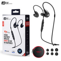 MEE Audio X7 Plus Stereo Bluetooth Wireless Sports Running In Ear HD Earphones With Mic