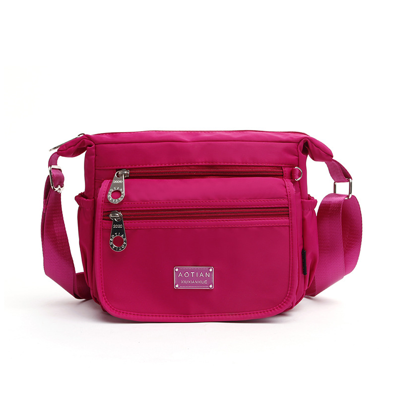 Waterproof Women Shoulder Bag Quality Nylon Messenger Bags Brand Female Small Crossbody Bag Teenage Travel Casual Bolsa feminina smile салфетки влажные special 15 шт антибактериальные с подорожником