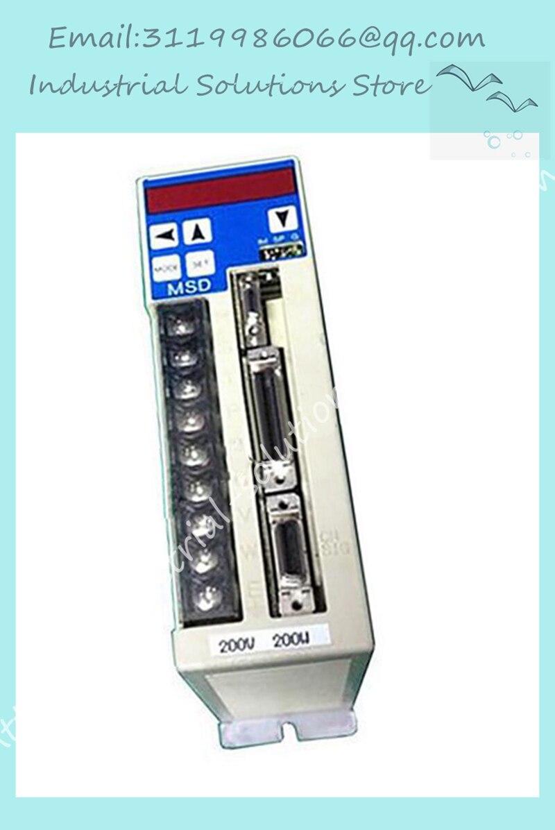MSD023A1X AC Servo DRIVE MSD023A1X 200 WMSD023A1X AC Servo DRIVE MSD023A1X 200 W