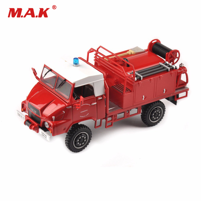 Toys for Boys 1/43 Scale Red Fire Engine Truck Model Mini Vehicle Toy Gift Brinquedo Menino Cheap Toys for Children