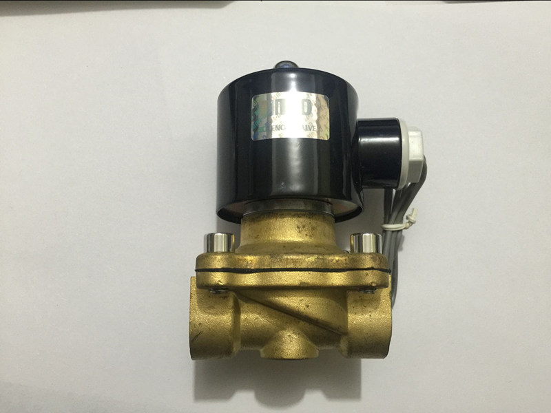 New Brass 2W160-15 1/2 Electric Solenoid Valve Water Air Fuels Gas Normal Closed Alloy DC12V,DC24V or AC110V free shipping high quality 1 2 brass solenoid valve normally closed water air oil 2w160 15 nbr dc12v dc24v ac110v or ac220v