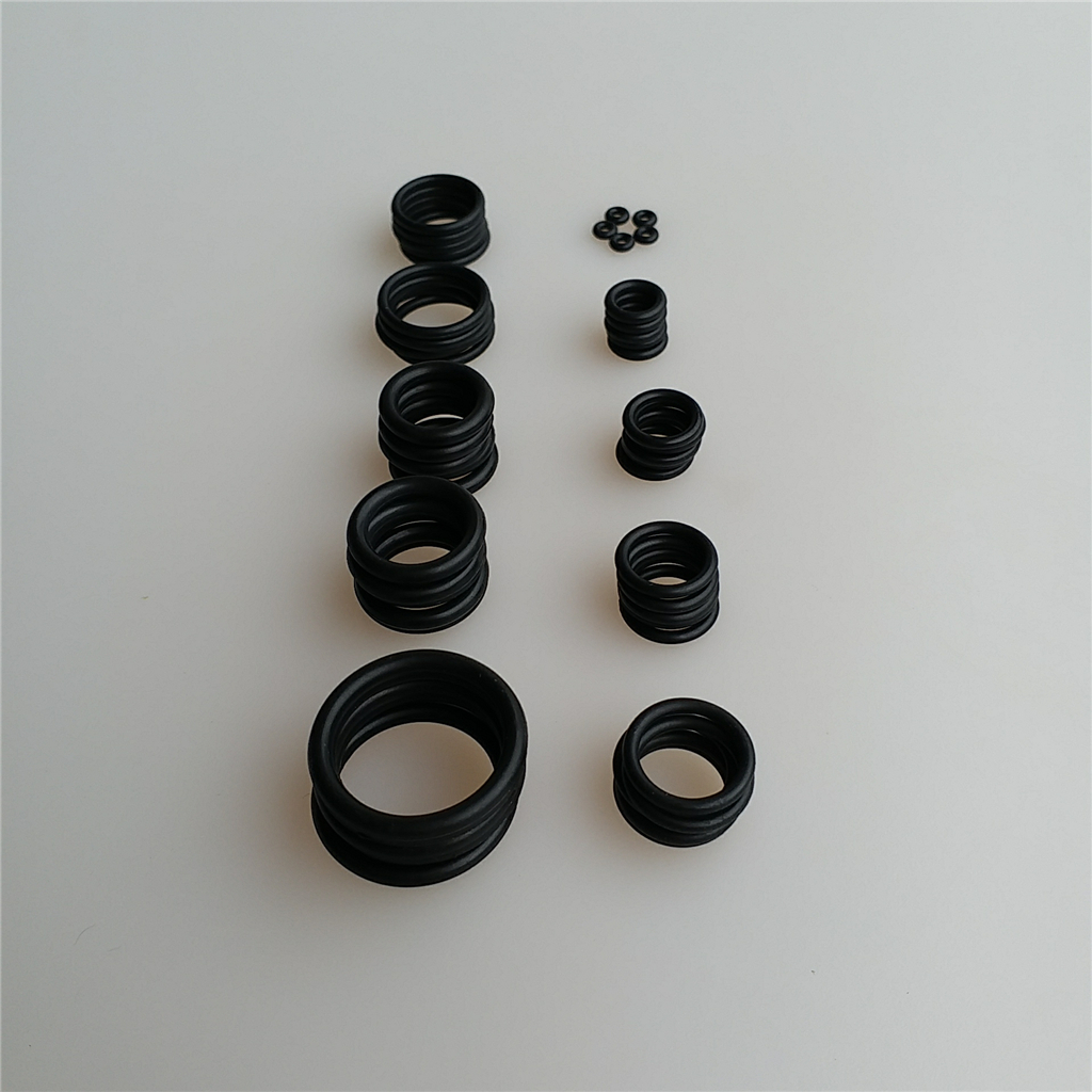 50Pcs 10 Sizes Nitrile Rubber Sealing O Rings Washer For Scuba Diving Cylinder/Tank