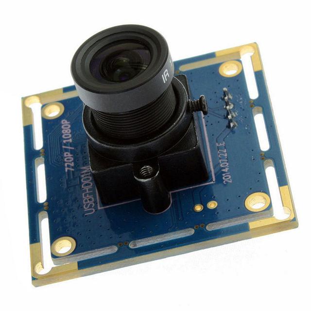 CMOS OV2710 2.8 미리메터 렌즈 YUY2 및 MJPEG 슈퍼 미니 1080 마력 oem usb 카메라 모듈 제조 업체 ELP-USBFHD01M-L28