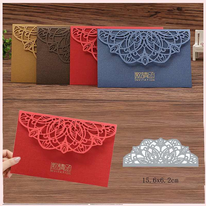Lace Dies Collection Metal Cutting Dies Scrapbooking Album Decoration Stamps and Dies for Card Making Craft Dies Cut new 2019
