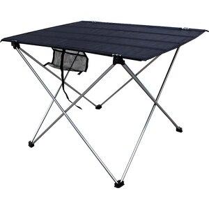 Image 1 - Draagbare Tafel Opvouwbaar Opvouwbare Camping Wandelen 56*43*37Cm